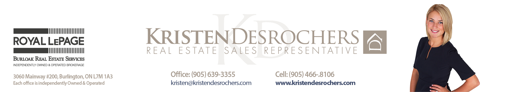 Kristen Desrochers - Burlington Real Estate